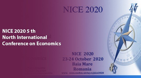 NICE 2020 5 th North International Conference on Economics