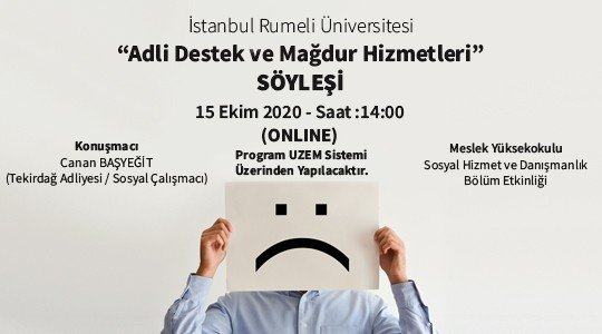 """""""Legal Support and Victim Services"""" İnterview"""